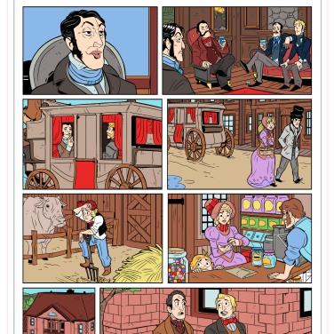 Kayak Comics Created by Alexander Diochon