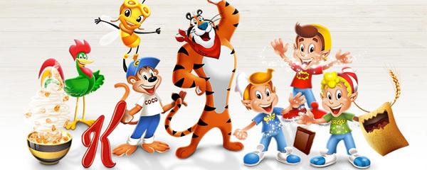 Kellogs Mascots