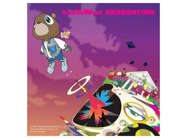 Kanye West Graduation Cover-Art