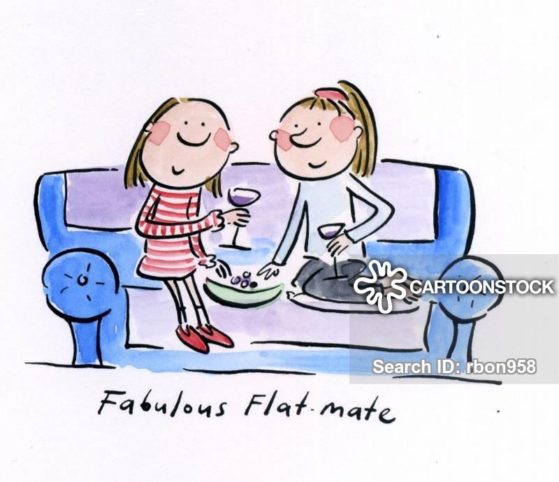 Fabulous flatmate.